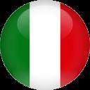italie vlajka