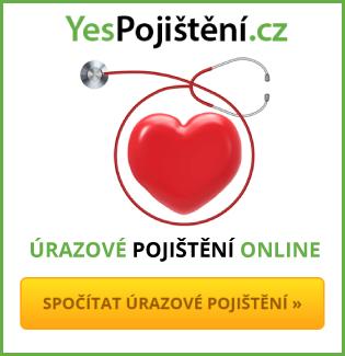 úrazové pojištění online