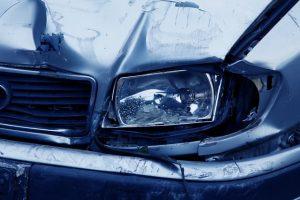 totální škoda na vozidle