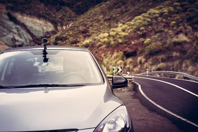kamera v autě